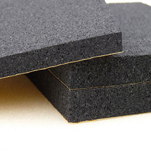 Acoustic Foam Sheet - Class O - Self Adhesive - Black-0