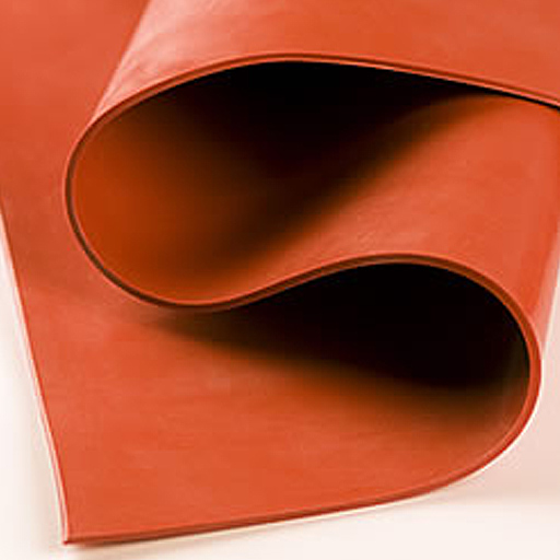 Silicone Rubber Sheet - Red-0