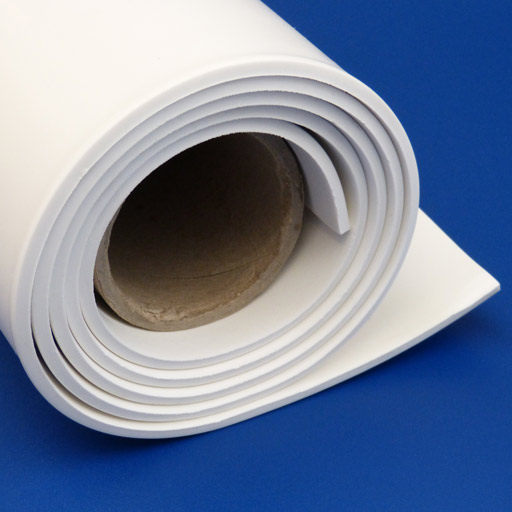 Natural Rubber Sheet - FDA Approved - White-0